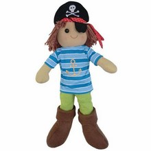 Large Boys Pirate Rag Doll
